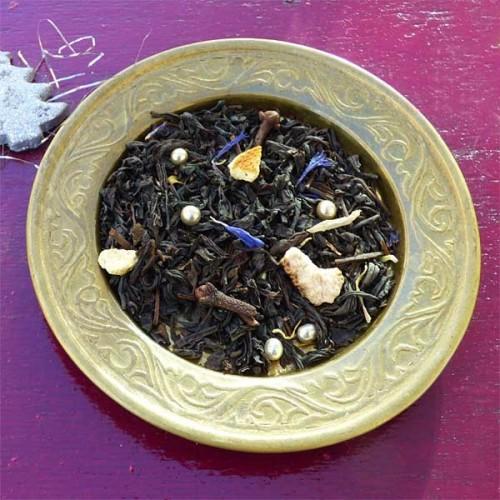 """Thé noir de Chine aromatisé """"Etoile des neiges"""""""