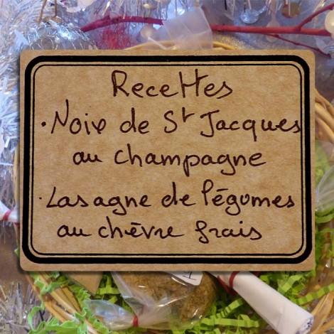Panière épices St Jacques & Lasagnes